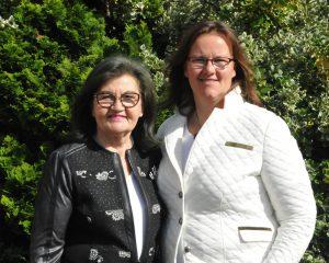 Ingeburg Gehrken und Nadine Mittag